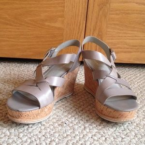 FRANCO SARTO - Carine Wedge Sandal - Good Shape